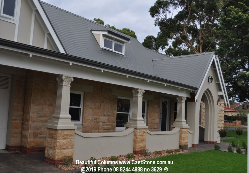 Columns: verandahs, pool houses and gazebos